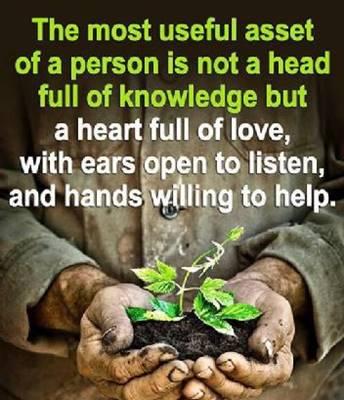Aset terbaik membangun dengan hati
