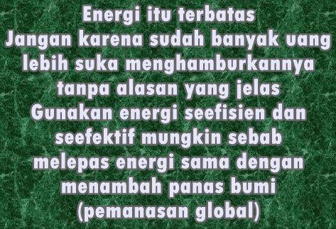 Cara menghemat energi BBM sepeda motor, mobil dan lainnya