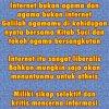 Hindari belajar agama di Internet banyak orang atheis