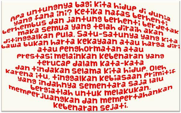 Ciri khas masyarakat primitif (jaman dulu) yang harus ditinggalkan oleh Indonesia