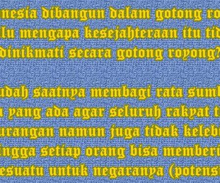 Indonesia negara gotong royong