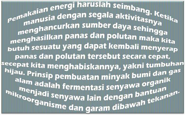 Cara Membuat Energi Terbarukan Sebagai Bahan Bakar Minyak & Gas Yang Murah, Efektif, Efisien dan Ramah Lingkungan
