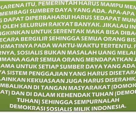 Keadilan Sosial Adalah Mutlak Untuk Indonesia Yang Lebih Baik