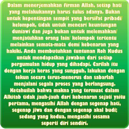 Alkitab Penuh Teka-Teki & Jebakan Agar Orang Berdosa Bingung & Sesat - Kebenaran Dinyatakan Kepada Keturunan Abraham Untuk Menjadi Berkat Bagi Semua Bangsa