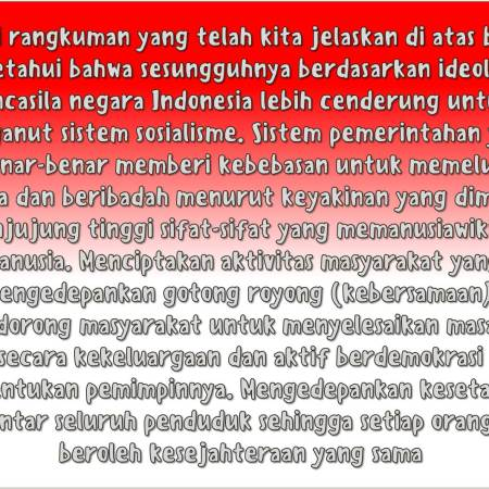 Penerapan Ideologi Pancasila Secara Perorangan Dan Sistem (Organisasi) Yang Berada Di Wilayah Indonesia