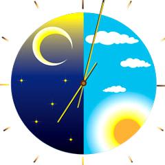 Waktu Siang Dan Malam Di Bumi by Google