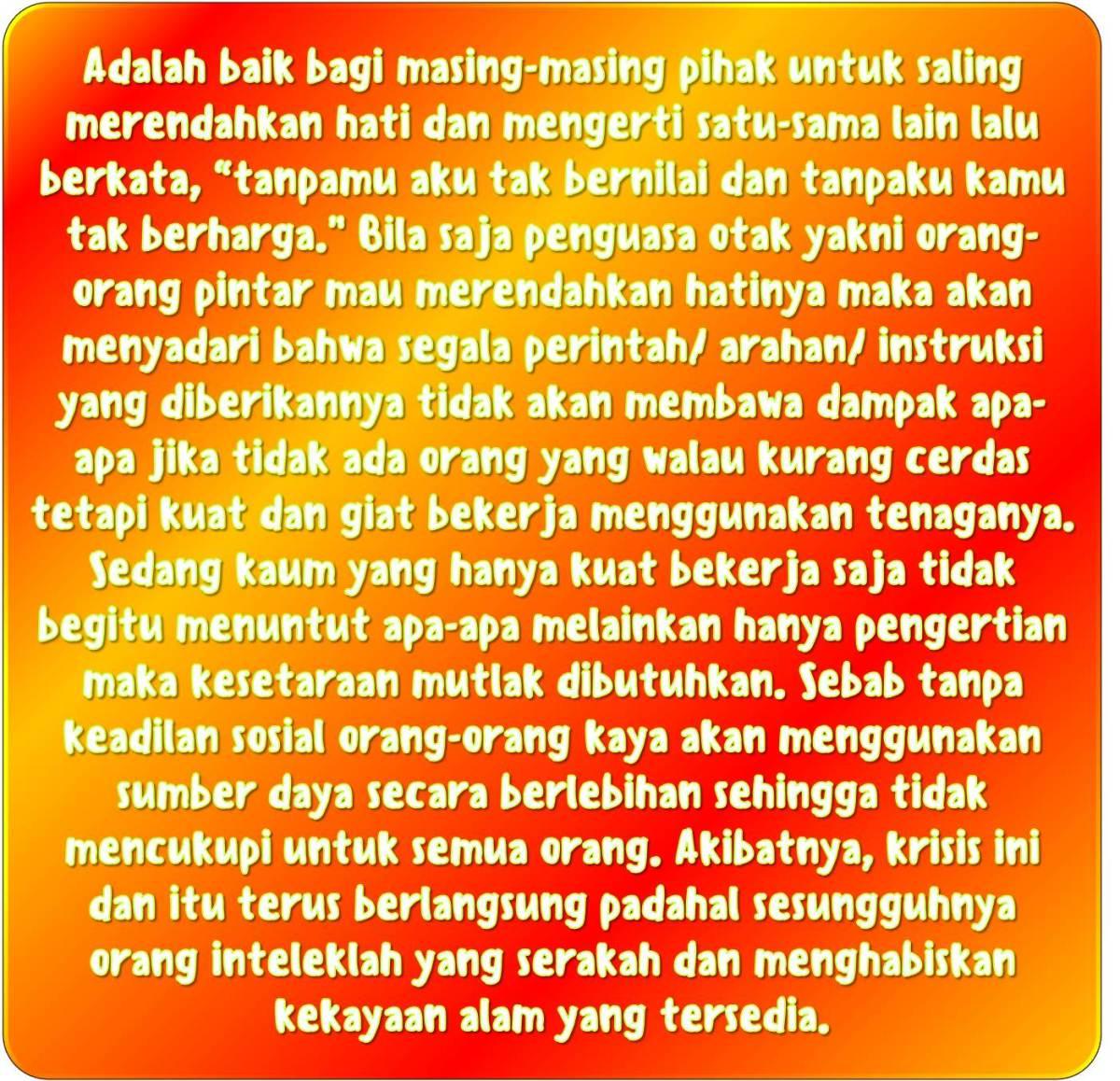 Hal Yang Tidak Bisa Dilakukan Orang Pintar Jika Semua Cerdas Siapa Jadi Pengusaha Cleaning Service Hidup Kesetaraan Menang Bersama Indonesia Strong From