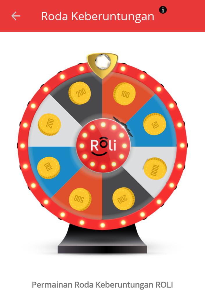 Cara Dapat Bonus Kuota Internet, Telepon, SMS dari Koin Dengan Permainan Roda Keberuntungan
