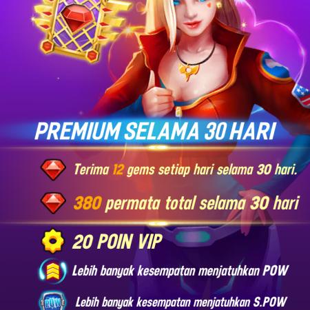 Game menjadi premium