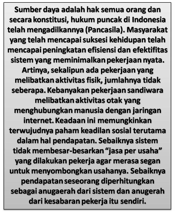 Sandiwara Pemerintah Dan Keadilan Sosial